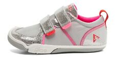 Shiny Silver/ Pink Sneakers by PLAE Youth Girls Size 13