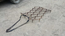 tractor quad mule chain harrow 4ft by 3ft Can post No Vat