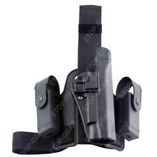 Tactical Serpa Leg Thigh Right-hand Holster W/ Magazine Pouches Colt 1911 M1911