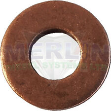 Ford, Jaguar, Iveco Tector Engine Common Rail Injector Washer x 10 (M003-078)