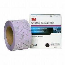 3M™ 30705 Hookit™ Purple Clean Sanding Sheet Roll, 320 grade, 70 mm x 12 m