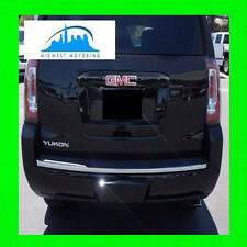 2015 GMC YUKON / YUKON XL PRECUT CHROME REAR TAILGATE TRUNK TRIM MOLDING W/WRNTY