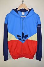 vtg 80s ADIDAS COLORADO HOODIE TRACK JACKET TRACKSUIT TOP CASUALS size D48 S/M