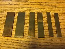 6 VINTAGE PLOW & DADO CUTTERS FOR THE STANLEY NO. 50 COMBINATION PLANE