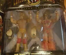 WWE Jakks Classic Hulk Hogan Ultimate Warrior Figure Wrestlemania Rock Cena Rare