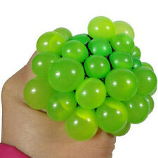1PC Autism Mood Squeeze Reliever Mesh Grape Ball New Anti Stress Face Relief Toy