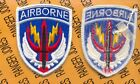 US Army Special Operations Command Central Airborne SOCCENT uniform patch m/e