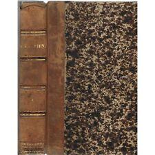 QUINTILIEN dit QUINTILIANUS Institution Oratoire notes SPALDING DUSSAULT 1821 T1