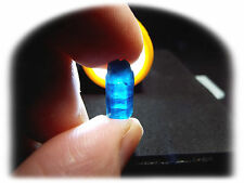 SIX SIDED Translucent Double Terminated Natural Blue Apatite Crystal Rough