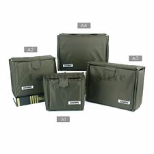 Caden Army green Camera Insert Case Partition Padded Bag Lens Divider Pouch/A4
