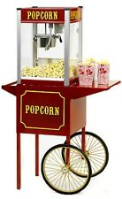 Commercial 6 oz Popcorn Machine Theater Popper Maker Paragon TP-6 w/cart