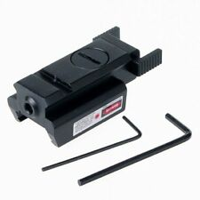 Mini Low Profile Pistol Gun Red Dot Laser Sight Picatinny/Weaver Rail
