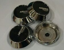 4x NEW JAPAN ABS Car Wheel Center Caps Chrome for Advan Racing Wheel 68mm