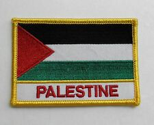 PALESTINE INTERNATIONAL COUNTRY FLAG QUALITY EMBROIDERED PATCH 2.5 X 3.5 INCHES