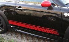 Side-Stripes adesivi strisce laterali F. BMW MINI COOPER S r56 ONE WORKS Jack GP