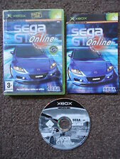 SEGA GT ONLINE Xbox (Compatible with 360) VERY RARE DRIVING/RACING GAME PAL
