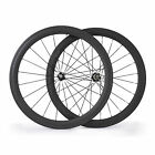 700C 23mm width 50mm depth Clincher Road Bike Bicycle Wheelset Carbon Wheels