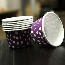 100PCS Paper Cupcake Liner Case Wrapper Disposable Cake Baking Cup For Party New