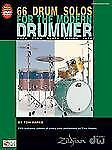 66 Drum Solos For The Modern Drummer (Book/Dvd), , Good Book