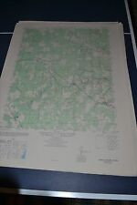 1940's Army topographic map Hanover Academy Virginia -Sheet 5459 I SE
