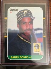 Barry Bonds Giants 1987 Donruss Rookie RC Mint. Free Shipping