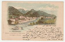 CARTOLINA S. PELLEGRINO STAZIONE IDROMINERALE DI PRIMO ORDINE RIF. 15145