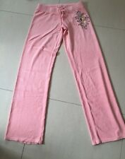 JUICY COUTURE PANT - QUILLED ROSE / PINK - SMALL - CUTE BUTT - BRAND NEW