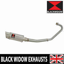 Honda CBF125 2008-2016 Full Exhaust System 200mm Round Stainless Silencer 200SS