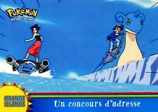 POKEMON Carte TOPPS NEUVE N° OR2 UN COUCOURS D' ADRESSE