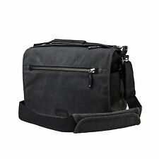 Tenba Cooper 13 DSLR Camera Bag - Luxury Canvas with Leather Accents