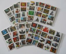 10 Packs of Lego Batman Movie Mini Stickers - Mini Figure Kids Party Bag Fillers