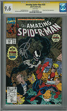 The Amazing Spider-Man #333 (NM+) CGC 9.6 signed by artist ERIK LARSEN - Venom