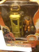DOCTOR WHO THE SATAN PIT SET FEATURING LIFT CAGE DOCTOR IN SPACE AND HELMET