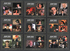 STAR TREK COMPLETE TNG Series 2 Complete HOLODECK Chase Card Set (9) H1-H9