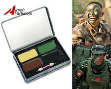 Military Army Camo Face Paint Camouflage Make Up Kit Airsoft Paintbal Hunting