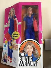 1977 Kenner ~ Jaime Sommers ~ The Bionic Woman Action Figure doll ~ NIDB