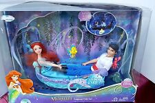 NEW DISNEY THE LITTLE MERMAID ARIEL ERIC BARBIE DOLL PRINCESS LAGOON SET MUSIC