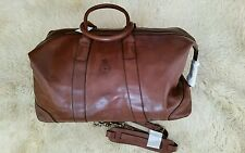 NWT Polo Ralph Lauren Large Core Leather Duffle Bag