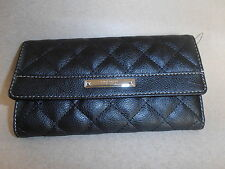 NINE WEST CHECKBOOK WALLET BLACK COLOR  NICE & CHEAP!!!
