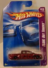 2008 Hot Wheels Team:Hot Trucks Nissan Titan Dark Red Flames