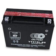 YTX18L-BS Battery for 86-99 Y50-N18L-A Yamaha XV1100 Virago XS1100 Venture QQL