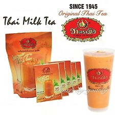 Thai Iced Hot Milk Tea Instant Powder 3 in 1 Original Thai Tea Number one Brand