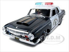 1963 DODGE 330 HIGHWAY PATROL POLICE CAR 1/18 DIECAST MODEL BY MAISTO 31345