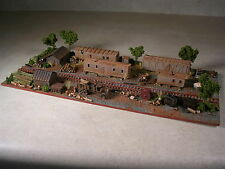 N Scale Custom Assembled Diorama Logging Camp Number 7, version #2
