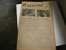 "August 4th ""1954"" Record Northeastern Ohio's Magazine Newspaper  ~Vintage Ads~"