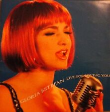 "GLORIA ESTEFAN - LIVE FOR LOVING YOU 7"" VINYL SINGLE 1990s POP NM/EX"