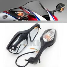 Black Mirrors w/ Turn Signal For 2008-2012 Honda CBR 1000RR / CBR1000RR