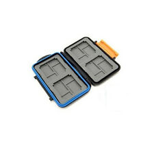 JJC Speicherkartenbox MC-4 for 4 CF, 8 Micro SD Cards, 8 XD waterproof