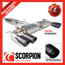 VW Mk7 Golf R 13 on Scorpion Exhaust Cat-Back Resonated 4x90mm Daytona SVW046DC