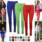 Womens Ladies Leggings Jeggings Jeans Skinny Fit Stretch Trousers size 8-14 Hot